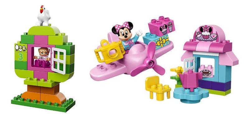 LEGO Duplo caja rosa de Disney (Minnie) y Diversión