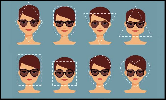 Modelos y tipos de gafas de sol rosas para mujer en función del tipo de cara