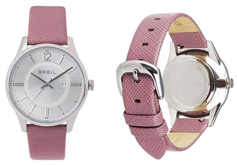 Reloj rosa para hombre y mujer Breil TW1761