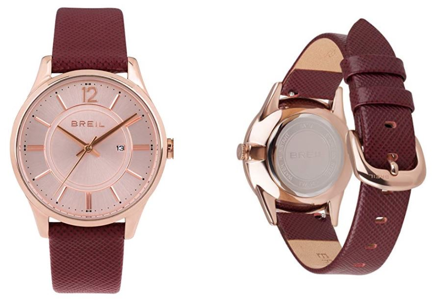 Reloj rosa para mujer Breil TW1763